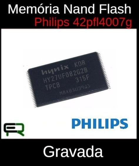 Memória Nand Flash Gravada Philips 42pfl4007g