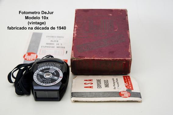 Fotometro Dejur Modelo 10x (vintage)
