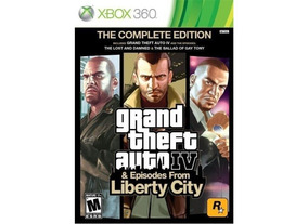 Grand Theft Auto Iv & Episodes From Liberty City - Xbox 360