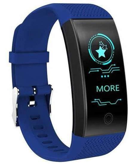 Smartband Smartwatch Com Frequência Cardiaca Azul