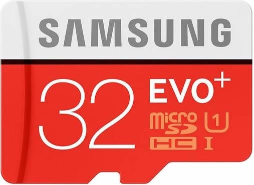 Samsung Micro Sdhc 32gb C10 Evo Plus 80mb/s Galaxy Note 3 4