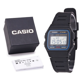 Kit Atacado 5 Relógio Masculino Casio F-91w