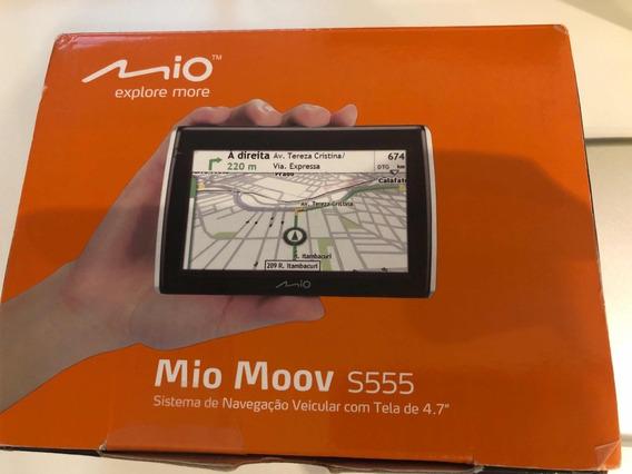Gps Mio Moov S555 Tela 4.7 - Usado