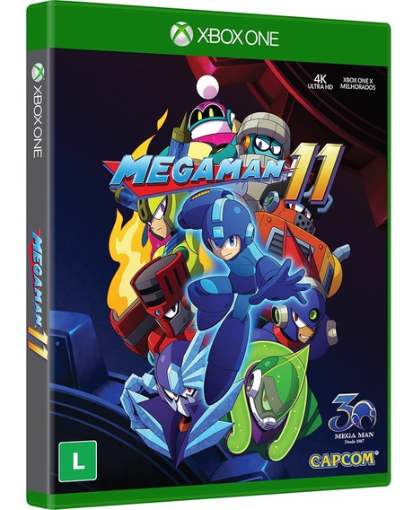 Mega Man 11 Xbox One Megaman Midia Fisica Novo