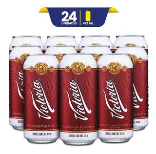 Cerveza Obscura Victoria, 24 Latónes 473ml C/u