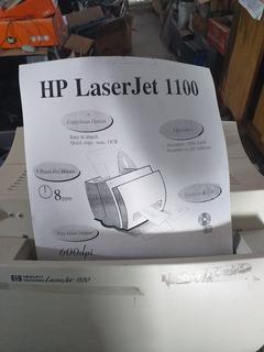 Impresora Laser Hp 1100 Con Cartucho Y Cables
