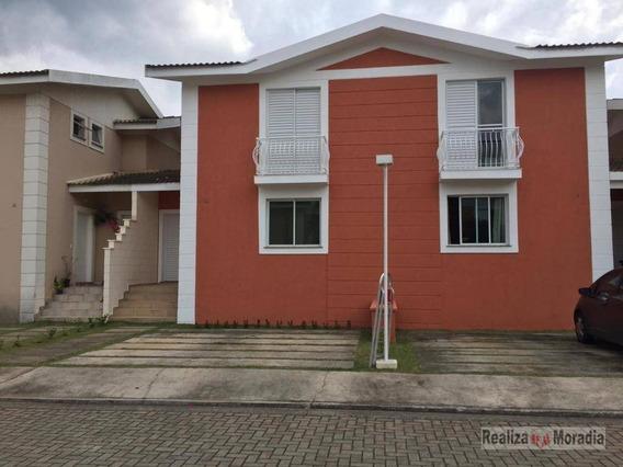 Casa Em Condomínio Com 3 Dormitórios 110 M² Por R$ 2.500/mês - Granja Viana - Sp - Ca1491