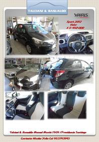 Toyota Yaris Sport Gli 2012 Excelente 3 Ptas Negro