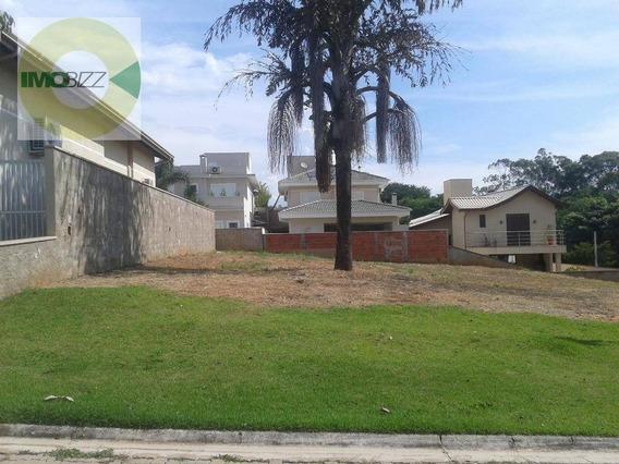 Terreno Residencial À Venda, Condomínio Jardim Fiorela, Valinhos. - Te1001