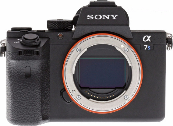 Camera Mirrorless Sony A7s Ii 2 4k C/ Recibo Garantia