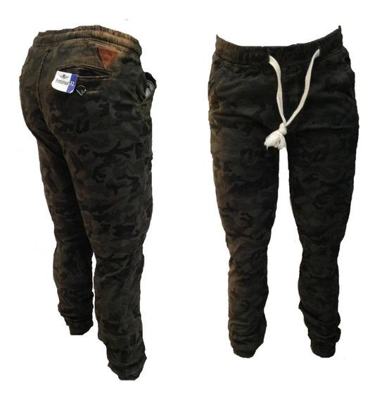 Pantalon Jogger Camuflajeado