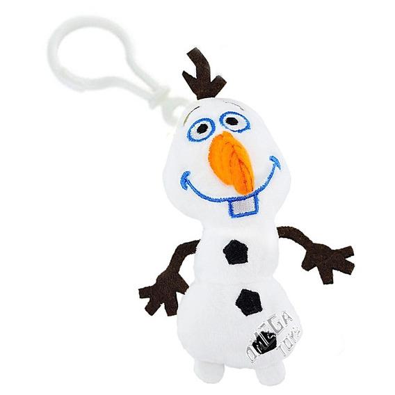 Chaveiro De Pelúcia Olaf Frozen Disney Long Jump