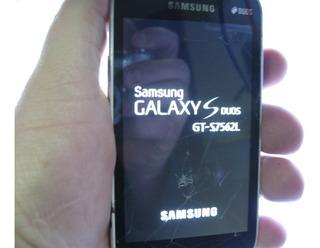 Celular Samsung Galaxy S Gt-s7562l Liga Aprece Logo Reinicia