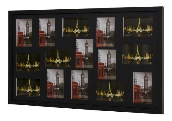 Quadro Multifotos Painel 15 Fotos (10x15) - Leia A Descrição