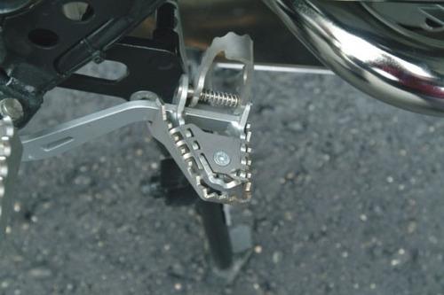 Extensão Do Pedal De Freio Em Aço P/ R1200 Gs/adv Até 2013