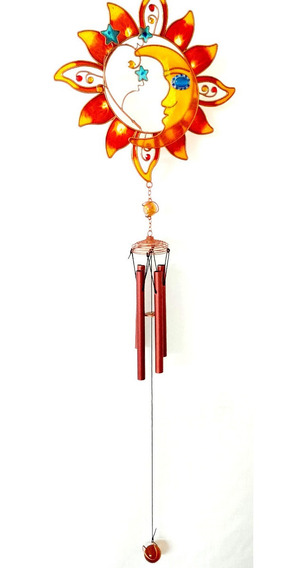 Llamador De Angeles Sol Y Luna Llamador De Viento