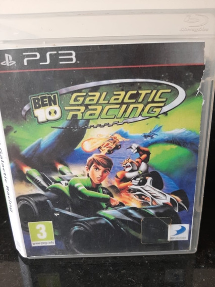 Jogo Usado Ps3 - Ben 10 Galactic Racing