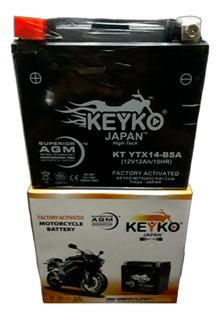 Pila Ytx14 Klr650 Burgman650 Vstrom 1000 Marca Keyko