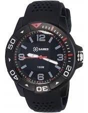 Relógio X-games Masculino Xmpp0020 P2px Preto Analogico