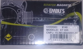 Estator Magneto Xt 225/tdm 225