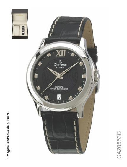 Kit Relógio Analógico Social Champion Ca20563c