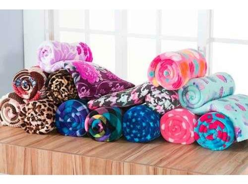 Kit 4 Manta Cobertor Soft Pet Cachorro Gato 1,10x 0,90m