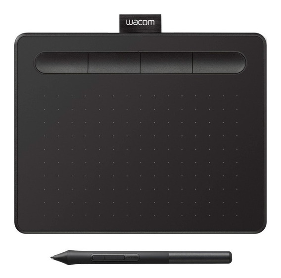 Tableta Grafica Wacom Ctl4100 Intuos Draw Small Pen