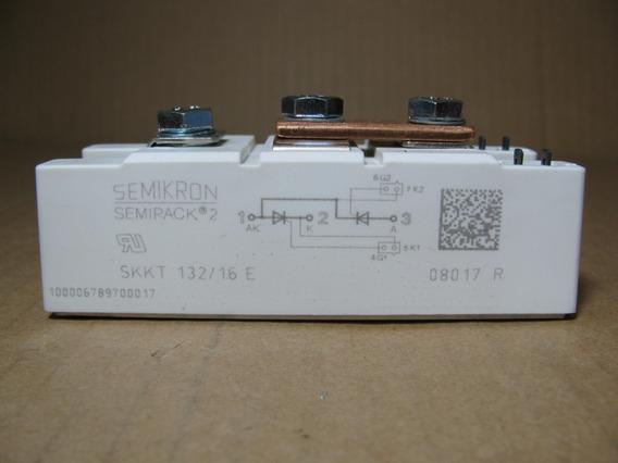 Tiristor Scr Skkt 132/16e Diodo Retificador Ponte Semikron
