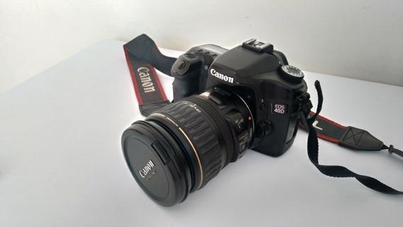 Câmera Canon Eos 40d + Objetiva 28-135mm