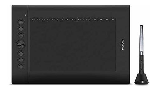 Tableta Huion H610 Pro V2 De Dibujo Gráfico Con Batería Lápi
