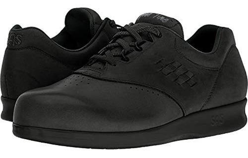 Zapatillas Con Cordones Freetime Sas Para Mujer (11 M, Negro