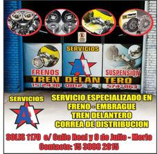 Servicio Mecanico Tren Delantero Embrague Frenos Correas