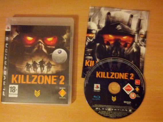 Killzone 2 Sony Playstation 3 Usado Original Mídia Física
