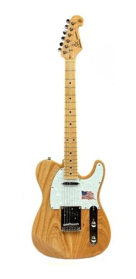 Guitarra Telecaster Sx Stl Ash Vintage Natural