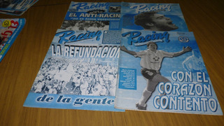 Lote De Revistas De Racing Club