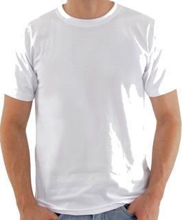 10 Camisetas Brancas 100% Algodão Fio 24 Promocional Atacado