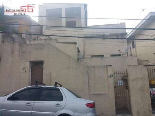 Casa De Renda Com 4 Casas À Venda, 280 M² - Freguesia Do Ó - São Paulo/sp - Ca0775