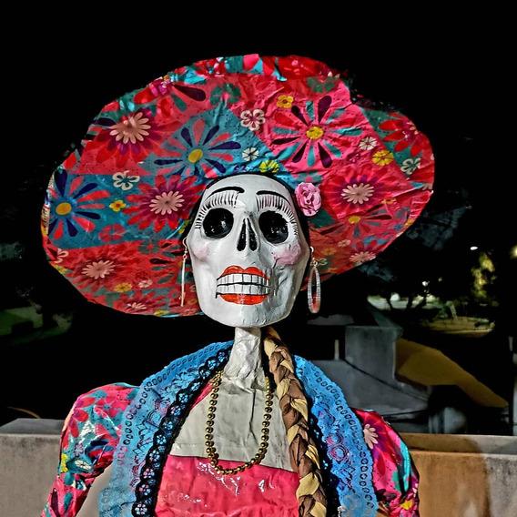 Catrinas Gigantes De Papel Mache En Mercado Libre México