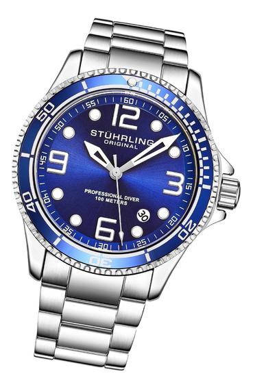 Relógio Stuhrling - Aquadiver Caballero Quartzo Ref 3930.2