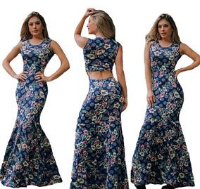 fd1e291e0e Vestido Longo Estampado Barato - Vestidos Casuais Longos Femininas ...