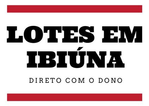 S.g Lotes Em Ibiúna A Venda, Direto Com O Proprietario!!!