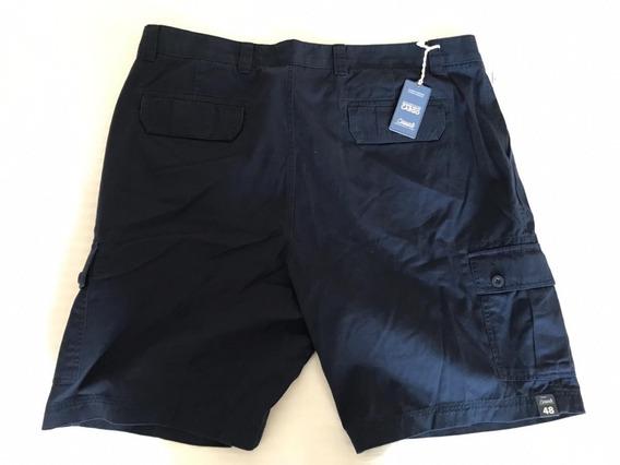 Shorts Casual Playatallas Grandes Extra Azul Oscuro Cargo 44