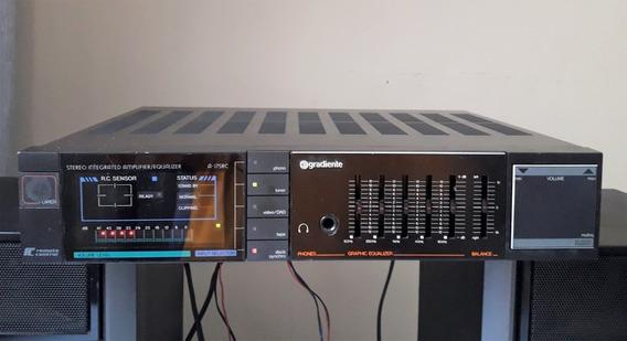 Amplificador Gradiente A-175rc Conservado, Funcionando Tudo
