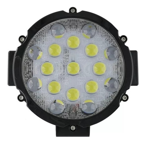 Faro Aux Proyector 51w 17 Led 150met Con Lupa