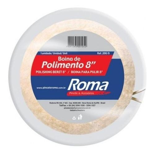 Boina De Polimento 8 - Roma