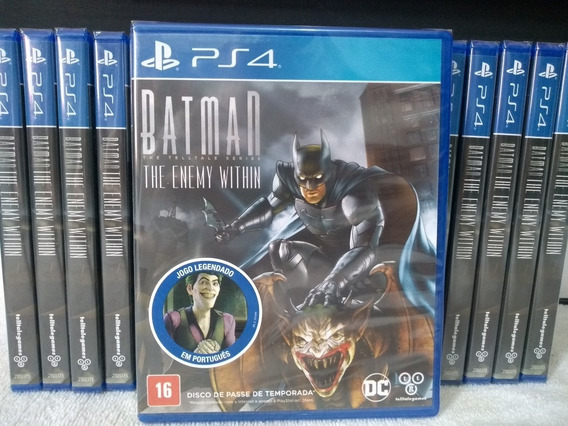 Batman The Enemy Within Ps4 Mídia Física