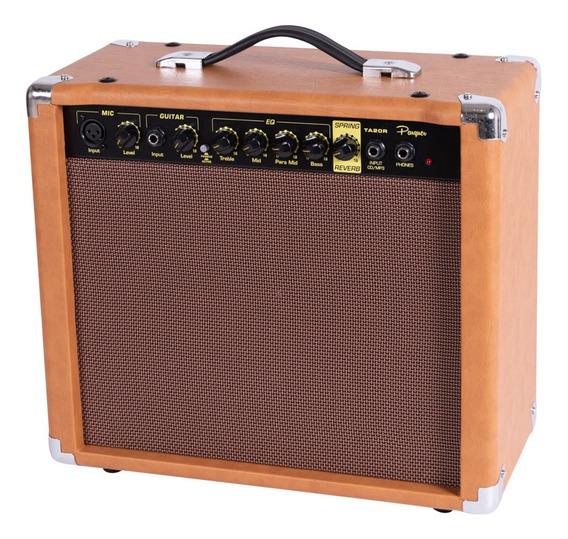 Amplificador De Guitarra Parquer Con Reverb 20w
