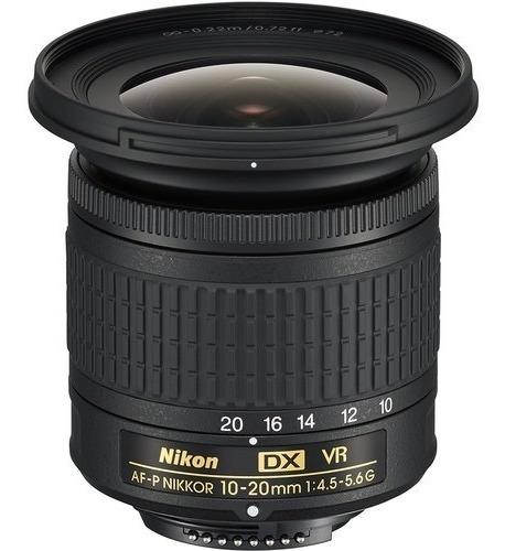 Lente Nikon 10-20mm F/4.5-5.6g Dx Af-p Vr Garantia 1 Ano