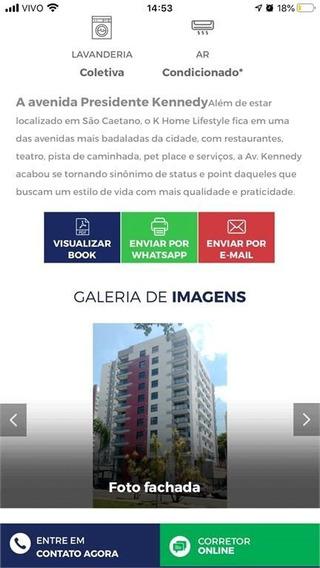 Lindo Studio De 46 Metros Em São Caetano Do Sul! Prédio Novo1 - 267-im455625