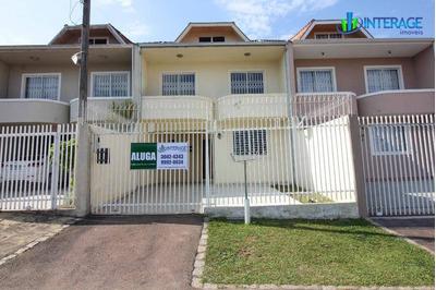 Sobrado Com 3 Dormitórios Para Alugar, 140 M² Por R$ 1.800/mês - Santa Felicidade - Curitiba/pr - So0095